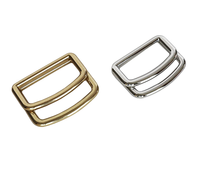 "Belt Buckles - Italian  ""Nomad"" Over Under (Solid Brass)"