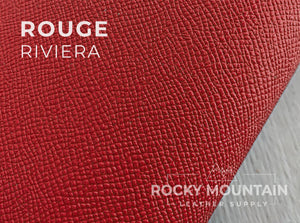Riviera Matte 🇫🇷 - Calfskin Leather - 5oz (2.0mm) - Made in France