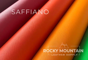 Saffiano 🇫🇷- Calfskin Leather - 4oz (1.6mm) - Made in France