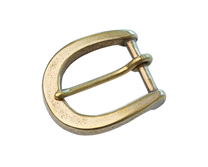"Belt Buckles - Japanese ""Arch"" Single Prong (Solid Brass)"