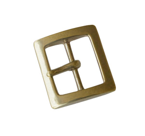 "Belt Buckles - Japanese ""Square"" Single Prong (Solid Brass)"