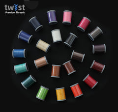 Twist - PolyBraid Premium Braided Polyester Thread - Buy 5 Get 6th Free