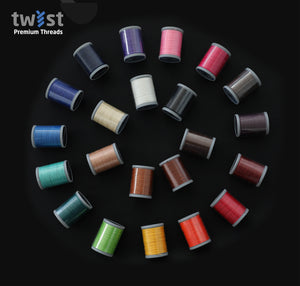 Twist - PolyBraid Premium Braided Polyester Thread - 0.55mm