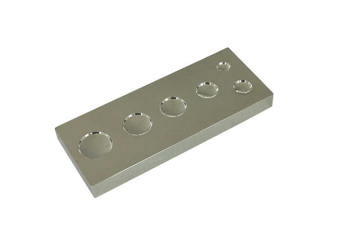 Universal Multi-Size Snap Setting Base - Stainless Steel