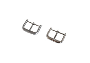 Watch Strap Buckles - Stainless Steel - Square