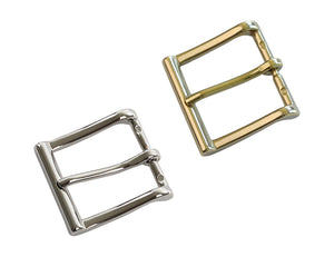 "Belt Buckles - Italian ""Executive"" Single Prong (Solid Brass)"