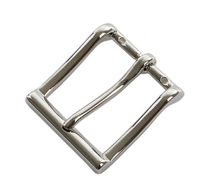 "Belt Buckles - Italian ""Executive"" Single Prong (Solid Brass - Nickel Free Plated)"