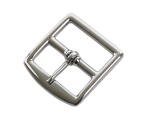 "Belt Buckles - Italian ""Zephyr"" Single Prong (Solid Brass - Nickel Free Plated)"