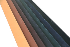 JE Sedgwick - Traditional English Bridle Leather - Belt Straps (Many Colors) - 9/10oz (4.0mm)