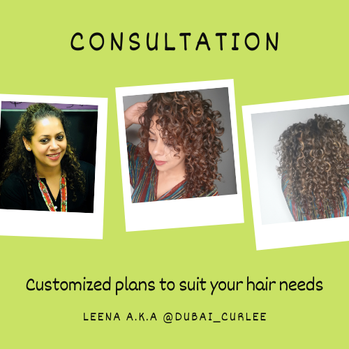 Curly Girl Consultation