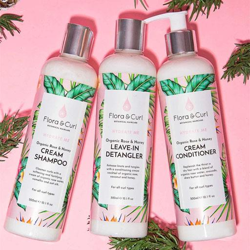 FLORA & CURL - HYDRATE ME TRIO GIFT SET