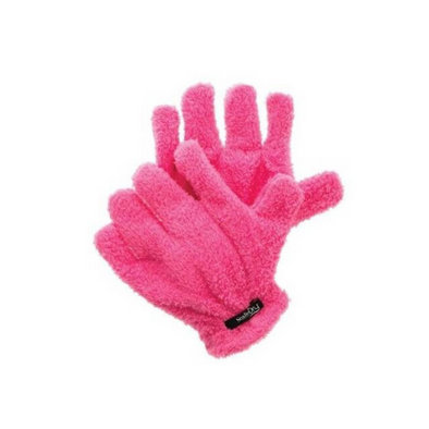 Hand Dry Hair Glove - Pink