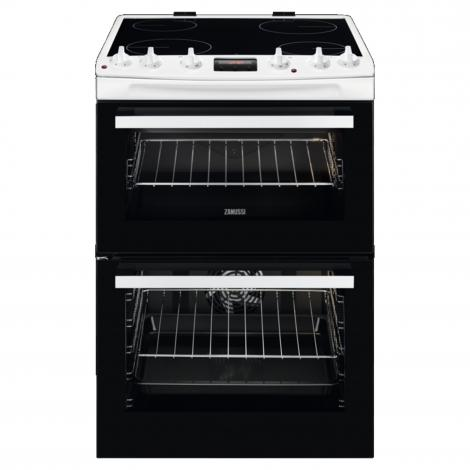 Electric Cooker with Ceramic Hob