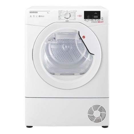 8kg Load Condenser Tumble Dryer - White