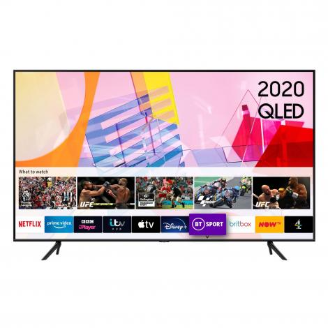 "50"" HDR 4K QLED TV with Alexa, Google & Apple TV app"