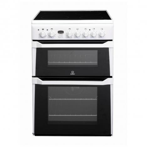 Electric Double Cooker with Ceramic Hob