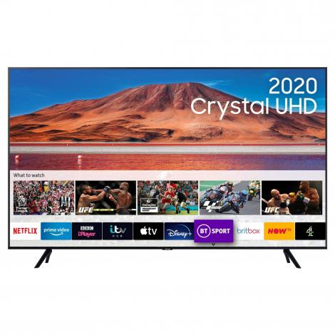 "UE65TU7100KX 65"" HDR Smart 4K TV with Tizen OS"