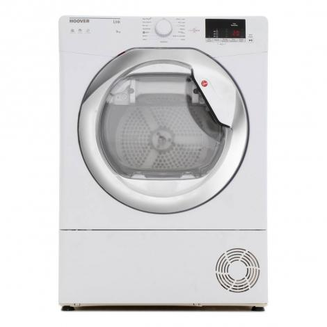 9kg Load Condenser Tumble Dryer - White