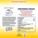 Orchard Grass Hay Mini Bale for Small Animals - 10lb