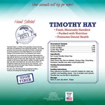 Timothy Hay Mini Bale for Small Animals - 5lb