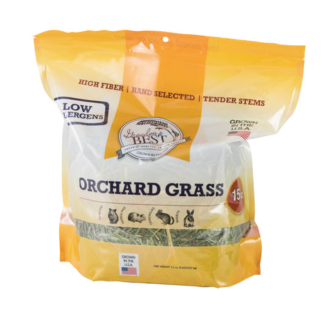 Orchard Grass Hay for Small Animals - 15oz