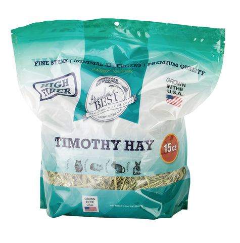 Timothy Hay for Small Animals - 15oz