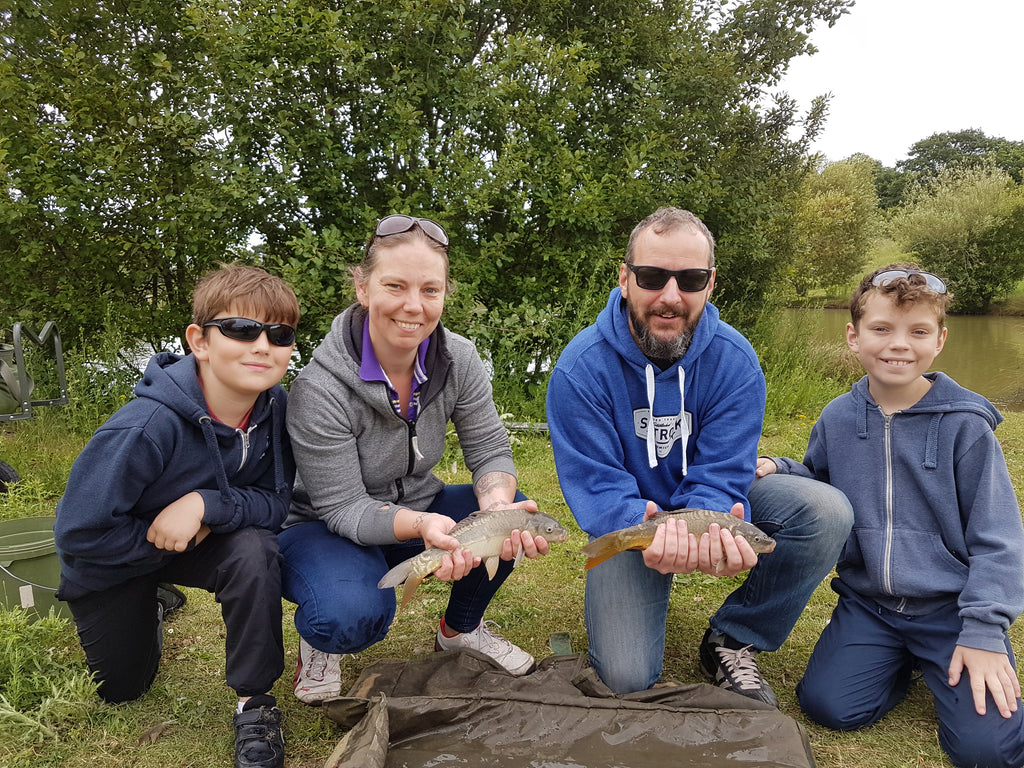 Private Family Fishing lesson in East London for 4 people (2hrs)