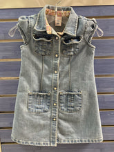 Load image into Gallery viewer, Girl's Denim Dress