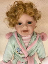 Load image into Gallery viewer, Golden Keepsakes Heirloom Collectible Porcelain Doll (#137/2,500)