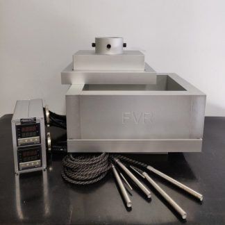 FVRosintech Heated Brick Mold for pollen/kief (kilo size) Rosin Presses (Available on backorder)