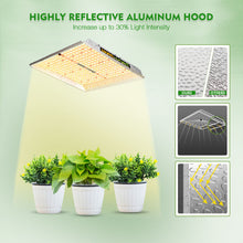 Load image into Gallery viewer, Mars Hydro TS 1000 Indoor Full Spectrum 150W 2ftx2ft 3ftx3ft coverage LED Grow Lights