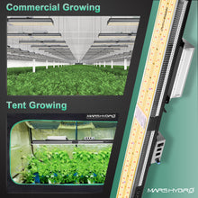 Load image into Gallery viewer, Mars Hydro SP 3000 300w Cover 2x5 (60x150cm) Samsung lm301b Osram full spectrum plant LED Grow Lights