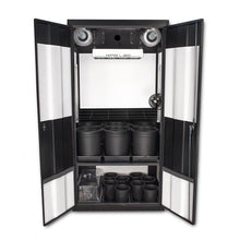 "Load image into Gallery viewer, SuperCloset Deluxe 3.0 LED Soil Grow Cabinet 36"" x 24"" x 72"""