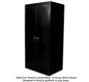 "SuperCloset Deluxe 3.0 LED Soil Grow Cabinet 36"" x 24"" x 72"""