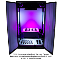 "Load image into Gallery viewer, SuperCloset SuperNova LED Grow Cabinet 46"" x 24"" x 78"""