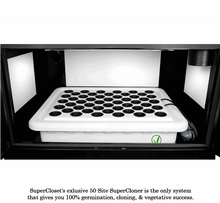 "Load image into Gallery viewer, SuperCloset SuperTrinity LED Grow Cabinet 92"" x 24"" x 78"""