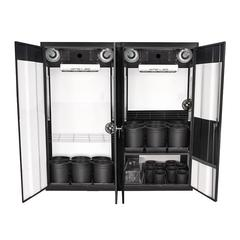 SuperCloset Trinity 3.0 LED Soil Grow Cabinet 72