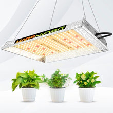 Load image into Gallery viewer, Mars Hydro TS 600 Indoor Full Spectrum 90W 1.5ftx1.5ft 2ftx2ft coverage LED Grow Lights