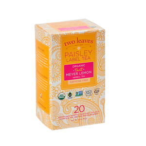 Paisley Organic Tart Meyer Lemon Tea
