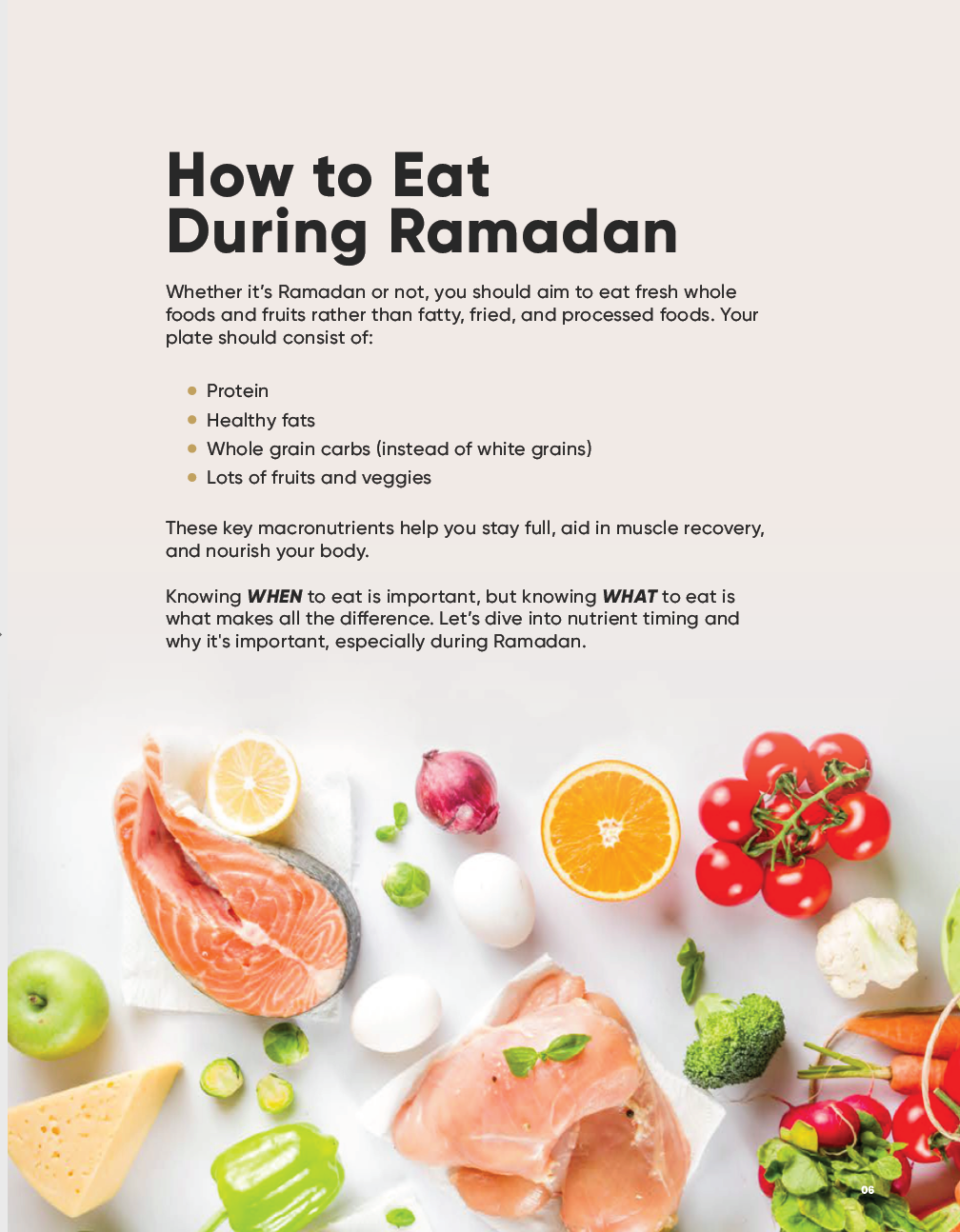 Ramadan Fit: Your 30-Day Fitness & Nutrition Guide