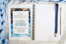 Load image into Gallery viewer, For You are my hope, O Lord God; You are my trust from my youth.  Psalm 71:5   Hope Journal and Blue grosgrain anchor charm bookmark
