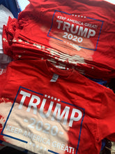 Load image into Gallery viewer, TEAR SOAKED TRUMP 2020 T SHIRT