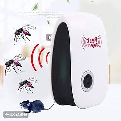 Ultrasonic Electronic Magnetic Drive Mosquito Repeller