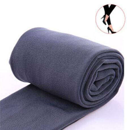 Women Clothing Online Store21  syle1 gray Woman thick warm leggings brushed Stretch Fleece Pants