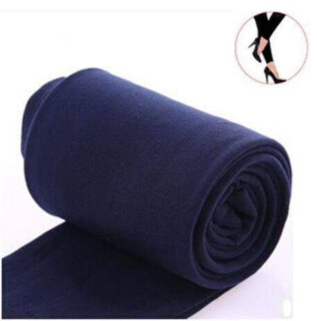 Women Clothing Online Store21  syle1 navy Woman thick warm leggings brushed Stretch Fleece Pants