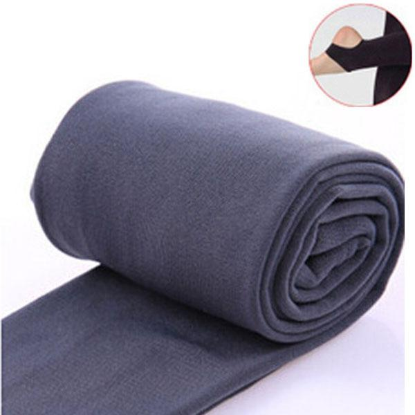 Women Clothing Online Store21  syle2 gray Woman thick warm leggings brushed Stretch Fleece Pants