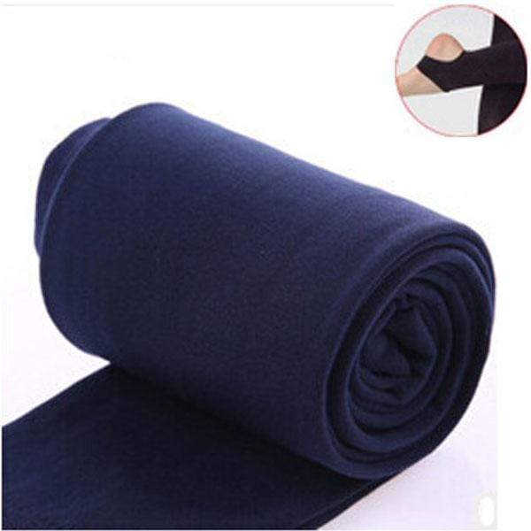 Women Clothing Online Store21  syle2 navy Woman thick warm leggings brushed Stretch Fleece Pants