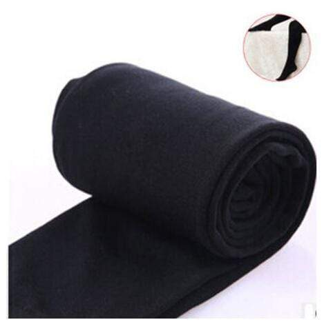 Women Clothing Online Store21  syle3 black Woman thick warm leggings brushed Stretch Fleece Pants