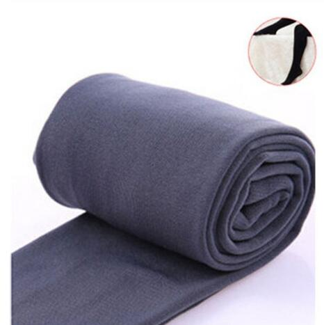 Women Clothing Online Store21  syle3 gray Woman thick warm leggings brushed Stretch Fleece Pants