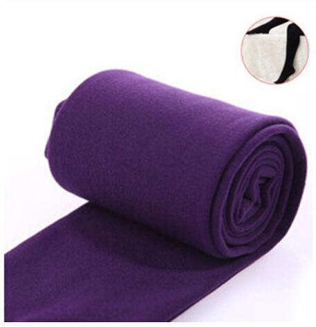 Women Clothing Online Store21  syle3 purple Woman thick warm leggings brushed Stretch Fleece Pants